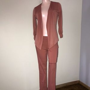 Sequin Hearts business suit